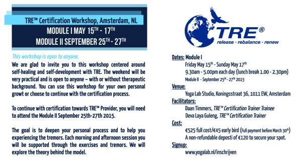 Amsterdam, Netherlands – TRE Certification Training – Module I(open ...