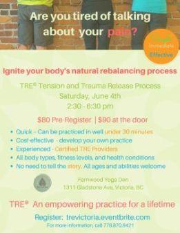 Victoria, BC, Canada Workshop – Ignite Your Inner Balance