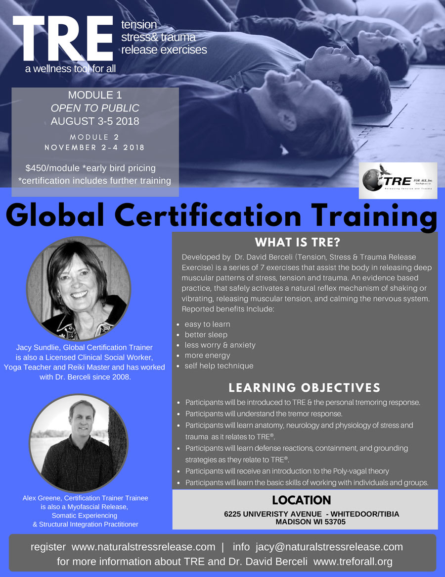 Madison Wisconsin Module 1 Tre Global Certification Training And
