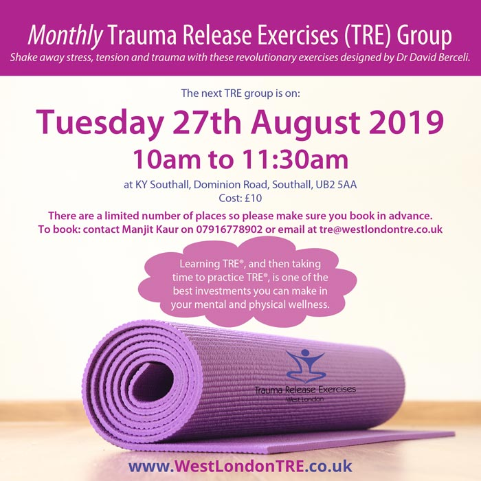 Monthly TRE Group in West London