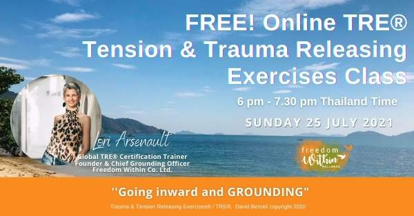 FREE TRE® & Grounding Class with Trainer Lori @Freedom Within Wellness